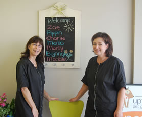 Owners of Uptown Pet Grooming