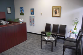 Waiting area for Cruzado Dentures